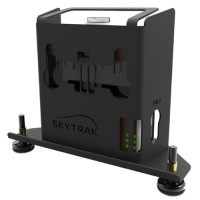 The SkyTrak Protective Metal Case is the 'Official Metal Case Authorized for use with SkyTrak'
